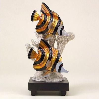 Butterfly Fish Sculpture