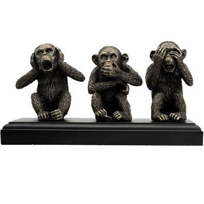 Wise Monkeys Sculpture