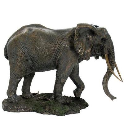 Elephant Trunk Down Sculpture