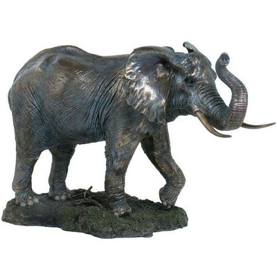 Elephant Sculpture Trunk Up