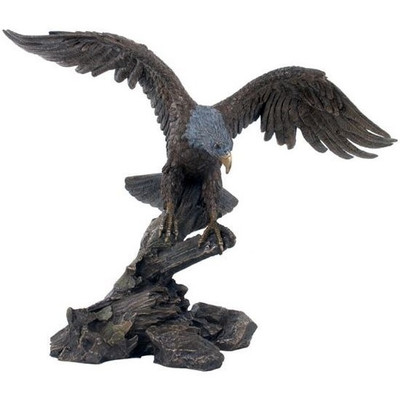 Eagle Spreading Wings Sculpture