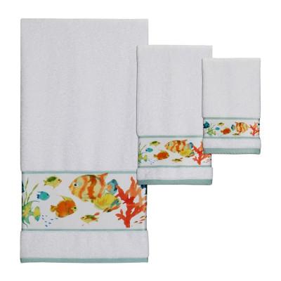 Rainbow Fish Bath Towel Set