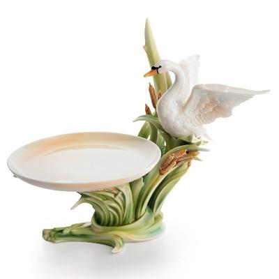 Southern Splendor Swan Candy Dish | fz01572