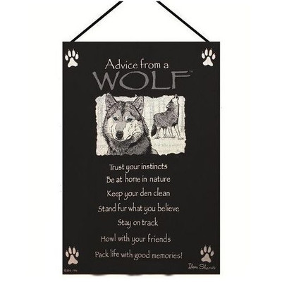 Wolf Wall Hanging