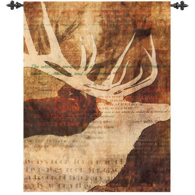 Elk Wall Hanging Stag Story
