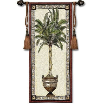 Palm Tree Tapestry Wall Hanging Old World Palm II