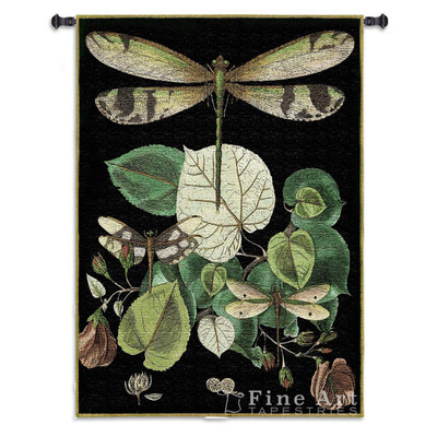 Whimsical Dragonfly II Tapestry Wall Hanging