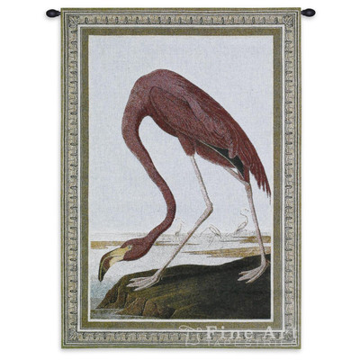Greater Flamingo Tapestry Wall Hanging
