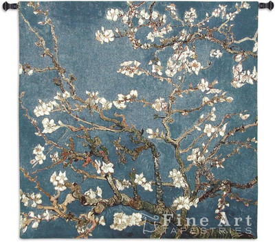 Almond Blossom Tapestry Wall Hanging