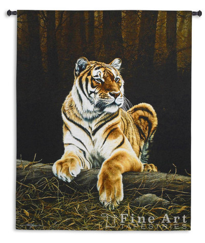 Grandeur Tiger Tapestry Wall Hanging