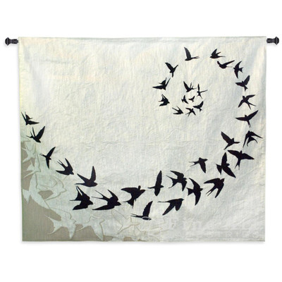 Bird Flight Tapestry Wall Hanging