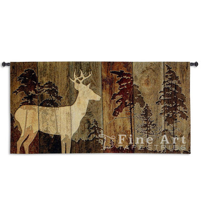 Woodburn Lodge Deer Tapestry Wall Hanging