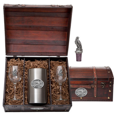 Eagle Wine Chest Set