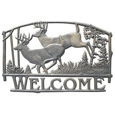Deer Welcome Sign