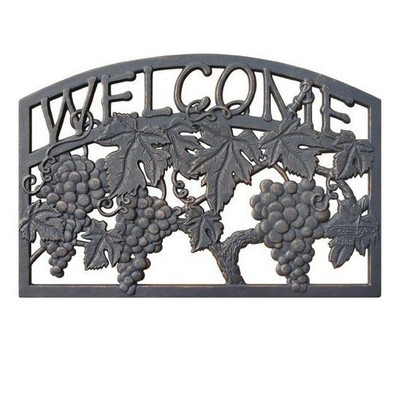 Grape Welcome Sign