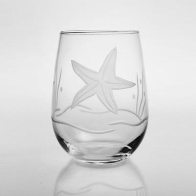 Starfish Wine Tumbler Set of 4