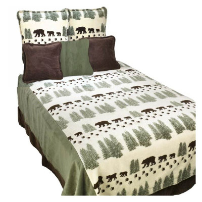 Pearl Bear Full/Queen Bedspread