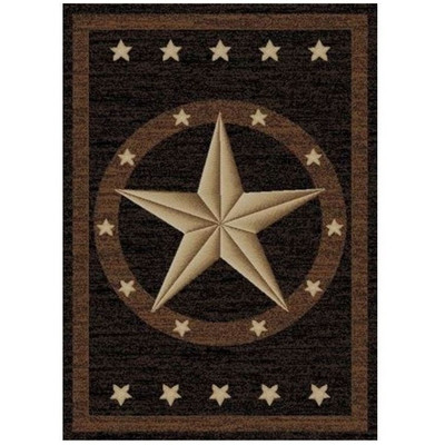 Star Area Rug Western - Hearthside Collection