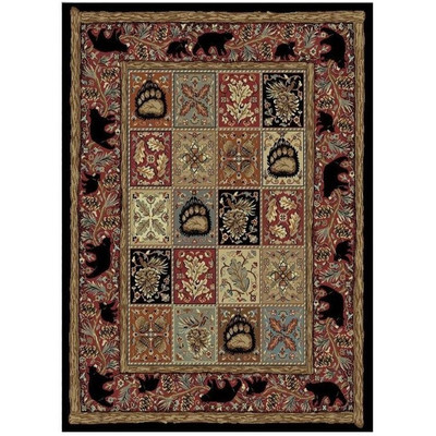 Bear Area Rug Masters Lodge - American Destination