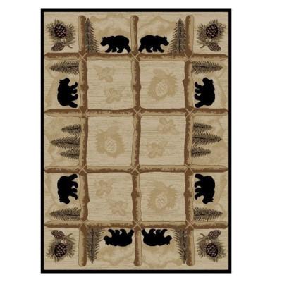 Bear Area Rug Toccoa - Hearthside Collection