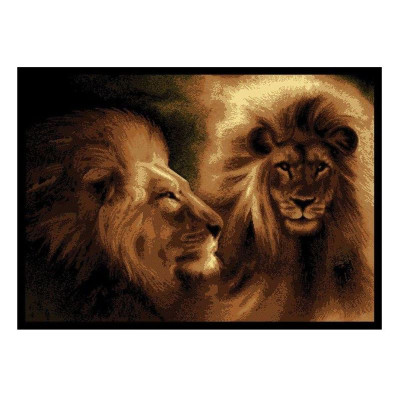 Lion Area Rug