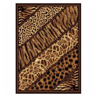 Slanted Safari Area Rug