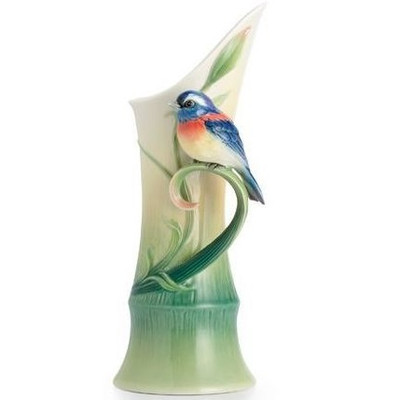 Peace and Harmony Bamboo Porcelain Vase | FZ02518