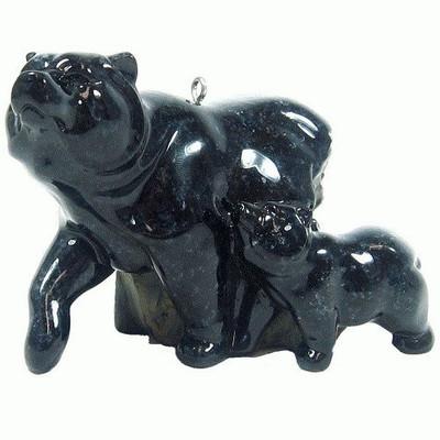 Black Bear First Spring Ornament