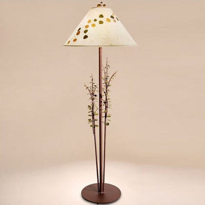 Aspen Leaves Floor Lamp