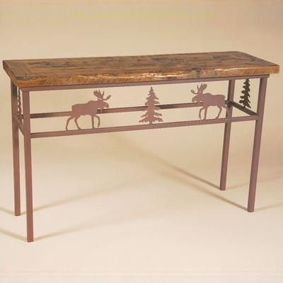 Moose Barn Wood Sofa Table
