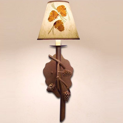 Pine Branch Wall Lamp