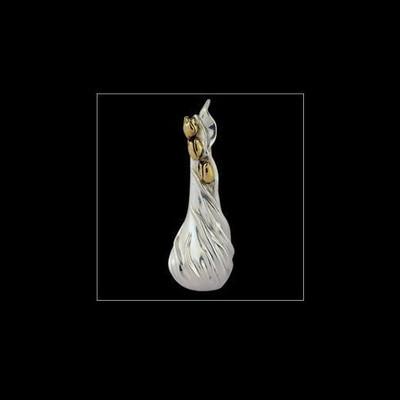 Tulip Design Silver Plated Vase | U114