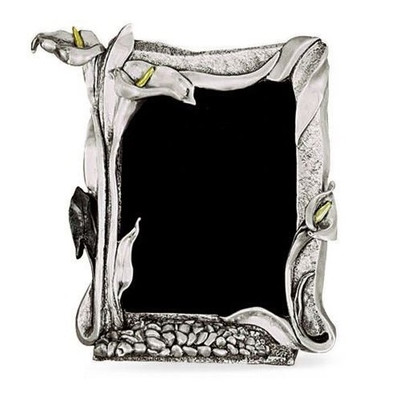 Calla Lily Silver Plated Photo Frame | U203