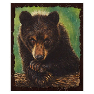 "Black Bear Print ""The Curious One"""
