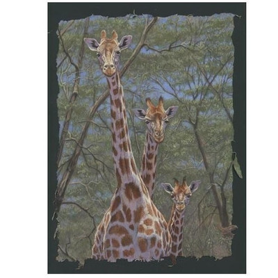"Giraffe Print ""Family Tree"""