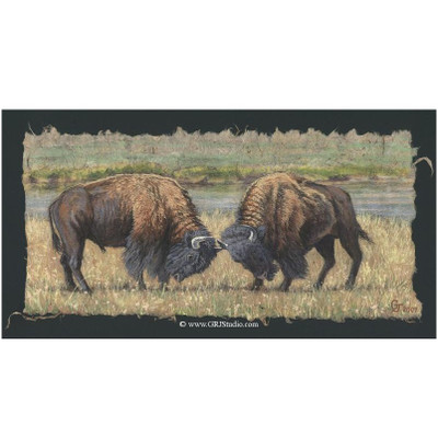 "Bull Print ""Sparring Match"""