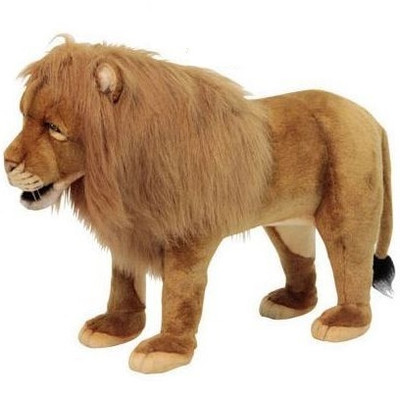 Lion Plush Foot Stool
