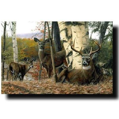 "Deer Print ""Autumn Majesty"""