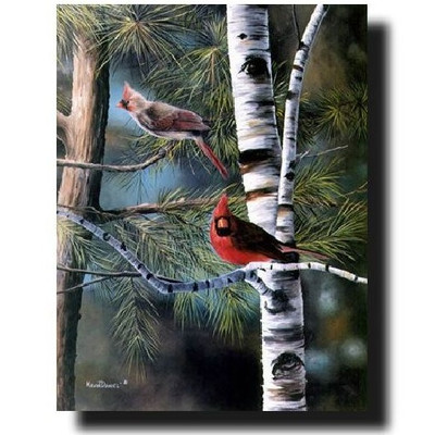 """Cardinal Print """"A Touch of Red"""""""