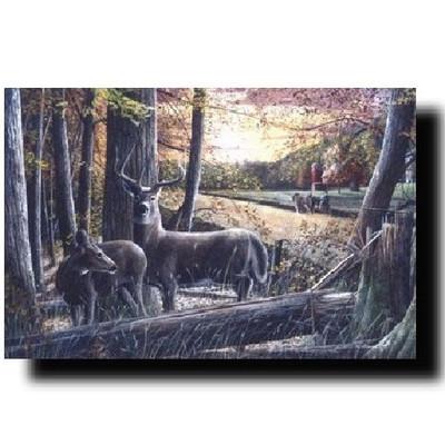 "Deer Print ""Autumn Harvest"""