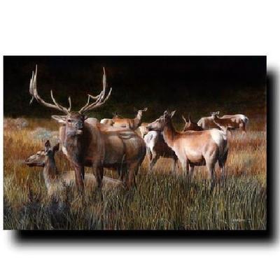 "Elk Print ""The Gathering"""