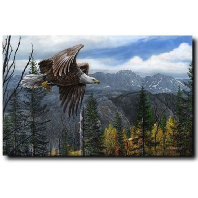 """Eagle Print """"May Freedom Forever Fly"""""""