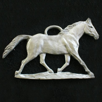 Horse Pewter Ornament