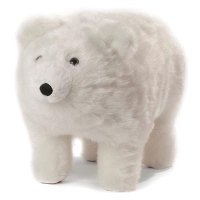 "Polar Bear ""Frosty"" Footstool"