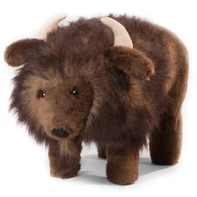 "Buffalo Footstool ""Billy Buffalo"""