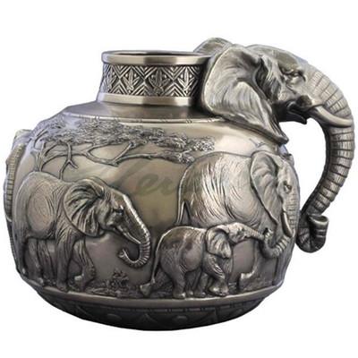Elephant Safari Vase