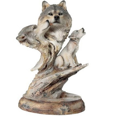"Wolf Sculpture ""Family Song"""