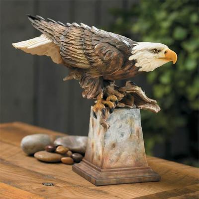 """Eagle Sculpture """"Free Reign"""""""