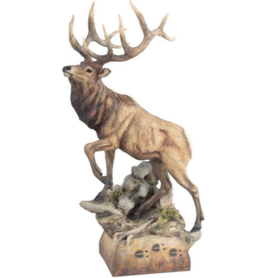 "Elk Sculpture ""Hoofin It"""