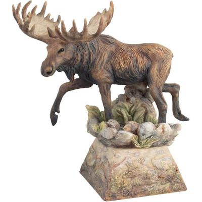 """Moose Sculpture """"Ambler"""""""